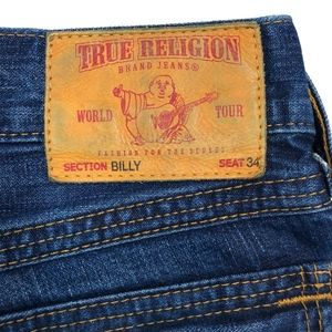 True Religion Jeans - True Religion • Billy Distressed Bootcut Jeans